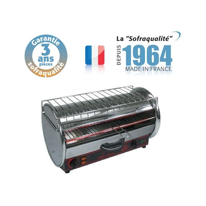 Toaster Professionnel multifonction avec régulateur - 490 x 235 mm utile - 230 V - Prestige 1 étage - Sofraca - 11022