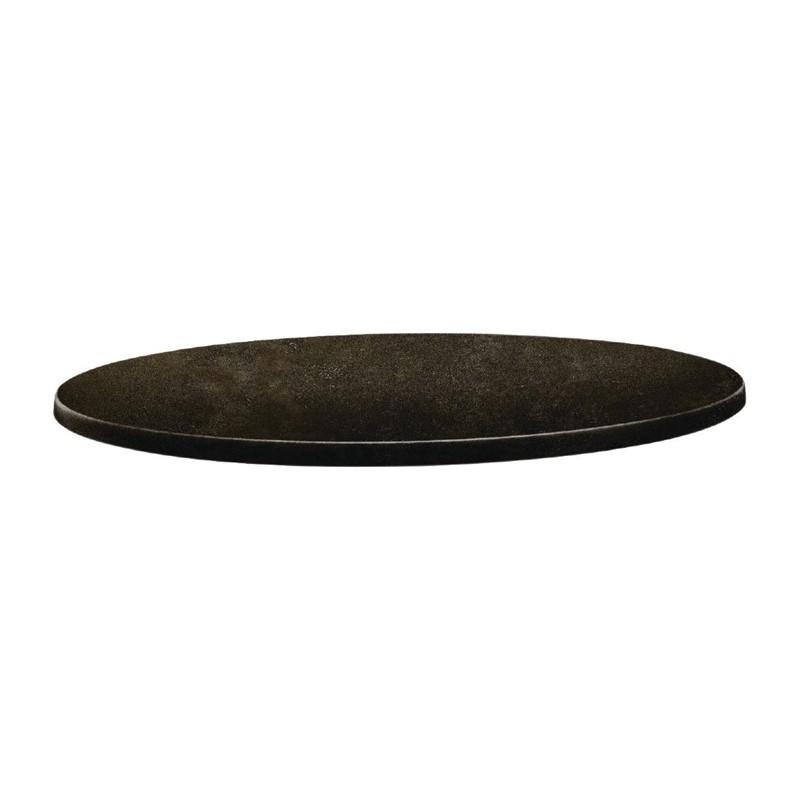 Plateau de table rond - 600 mm - Cyprus metal -