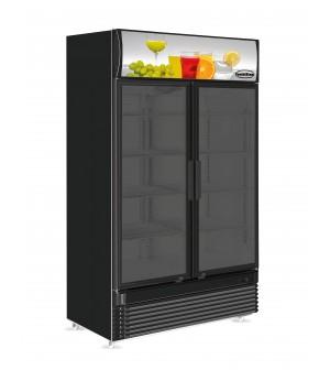 Réfrigérateur 780 l - 2 portes vitrées