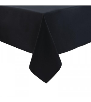 Nappe noire en polyester 900 x 900 mm