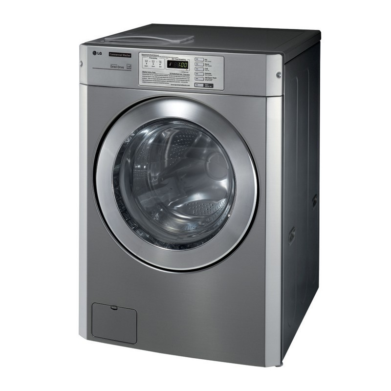 Lave-linge professionnel avec pompe de vidange - 11 kg - eau chaude -