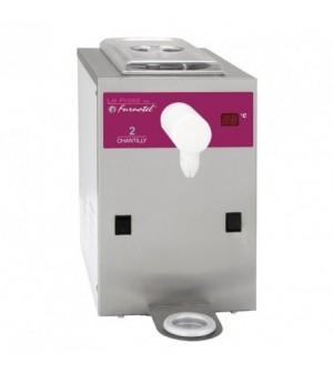 Machine à chantilly - commandes mécaniques - 100 litres / heure