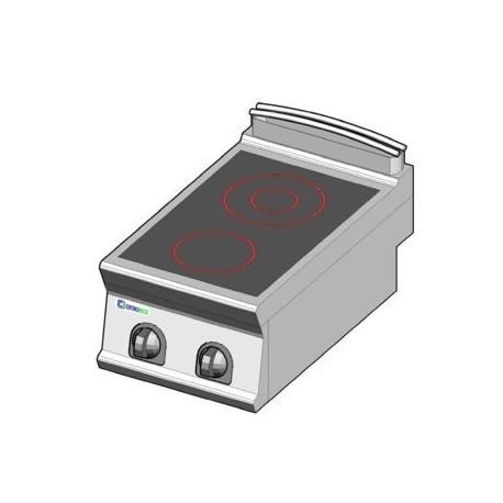 sélection premium 1c6b0 27cc0 Plaque de cuisson électrique vitrocéramique à poser - 2 plaques - gamme 700