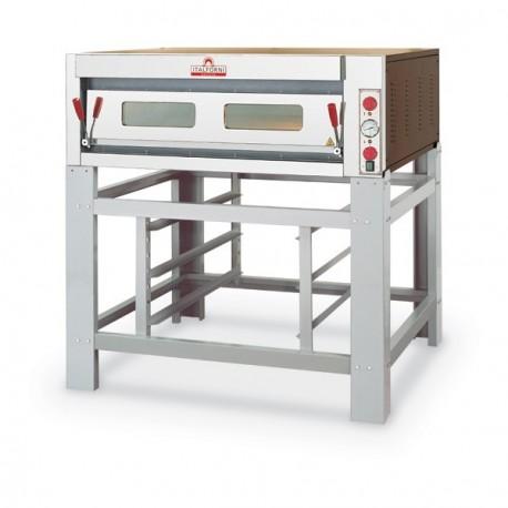 four pizza lectrique professionnel 1 chambre 9 pizzas italforni pas cher. Black Bedroom Furniture Sets. Home Design Ideas