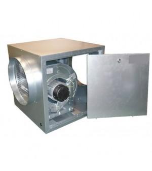 Caisson de ventilation pour hottes statiques