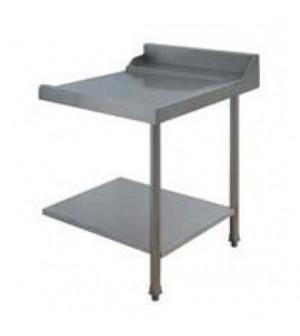 Table entrée/sortie pour machines à paniers 500 x 500 ou 600 x 500