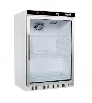 Mini armoire réfrigérée 130 L - positive vitrée