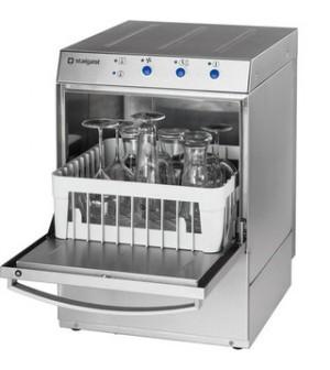 Lave verre inox professionnel avec doseur de liquide de lavage 350 x 350