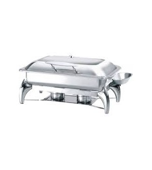 Chafing Dish  GN1/1 avec Couvercle Vitré - Atosa