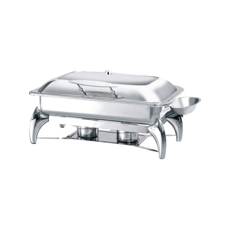 Chafing Dish  GN1/1 avec Couvercle Vitré - Atosa -