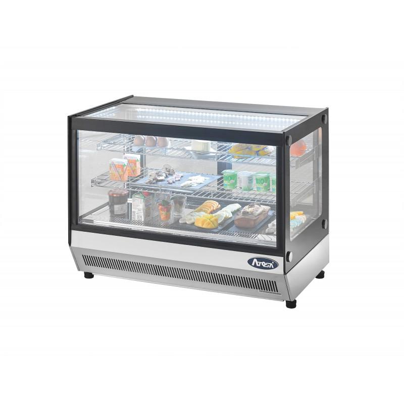 vitrine refrigeree poser 120 litres atosa pas cher