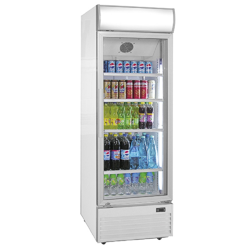 Armoire cong lateur vitr e 400 litres virtus - Congelateur armoire 360 litres ...