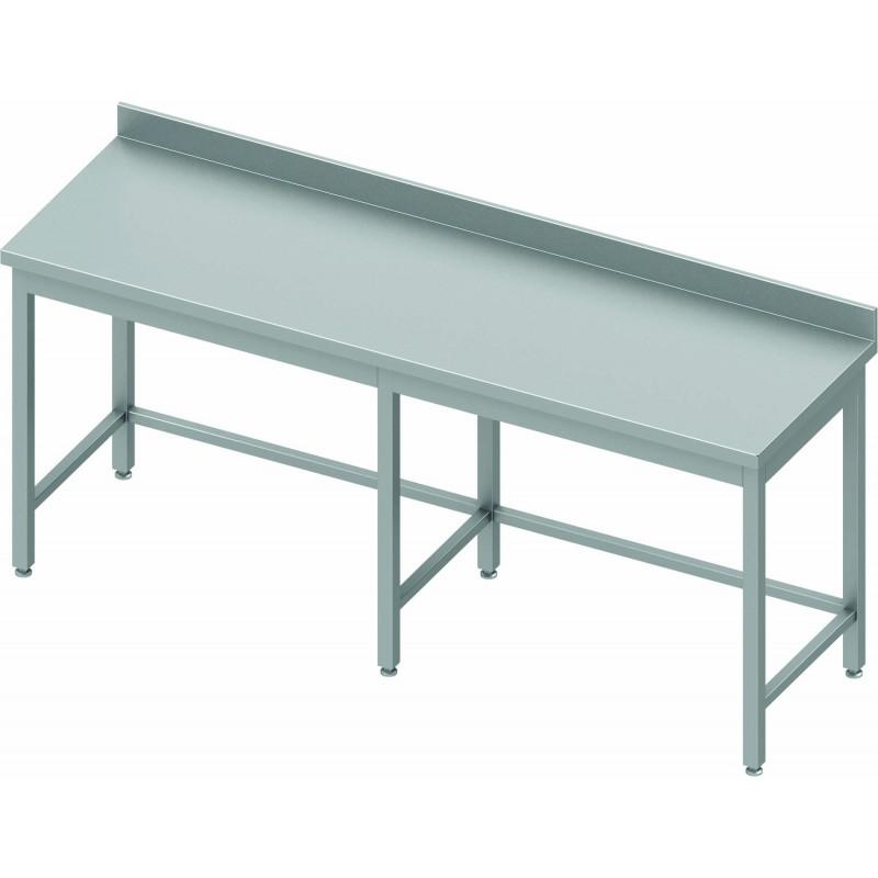 Table Inox Professionnelle Profondeur 600 Stalgast Pas Cher