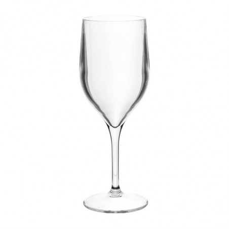 Verre à vin en plastique sans BPA - 310 ml - Roltex -