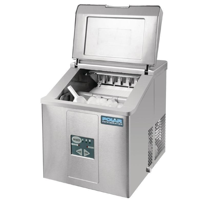 Machine à Glaçon de Comptoir avec Pelle - 17 kg - Polar - G620