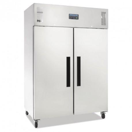 Armoire réfrigérée positive gastro double porte Polar 1200L