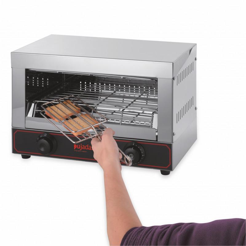 Toaster Professionnel avec 3 Pinces à Sandwich 1,7 Kw - Pujadas - P15.038