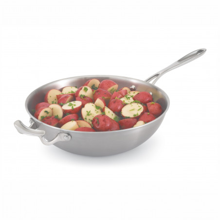 Wok de Service avec Manche Miramar® Cookware Ø 30,2 cm - Pujadas - 49418