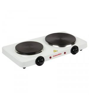 Plaque de cuisson électrique double Caterlite