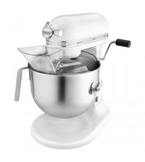 Mixeur professionnel KitchenAid blanc