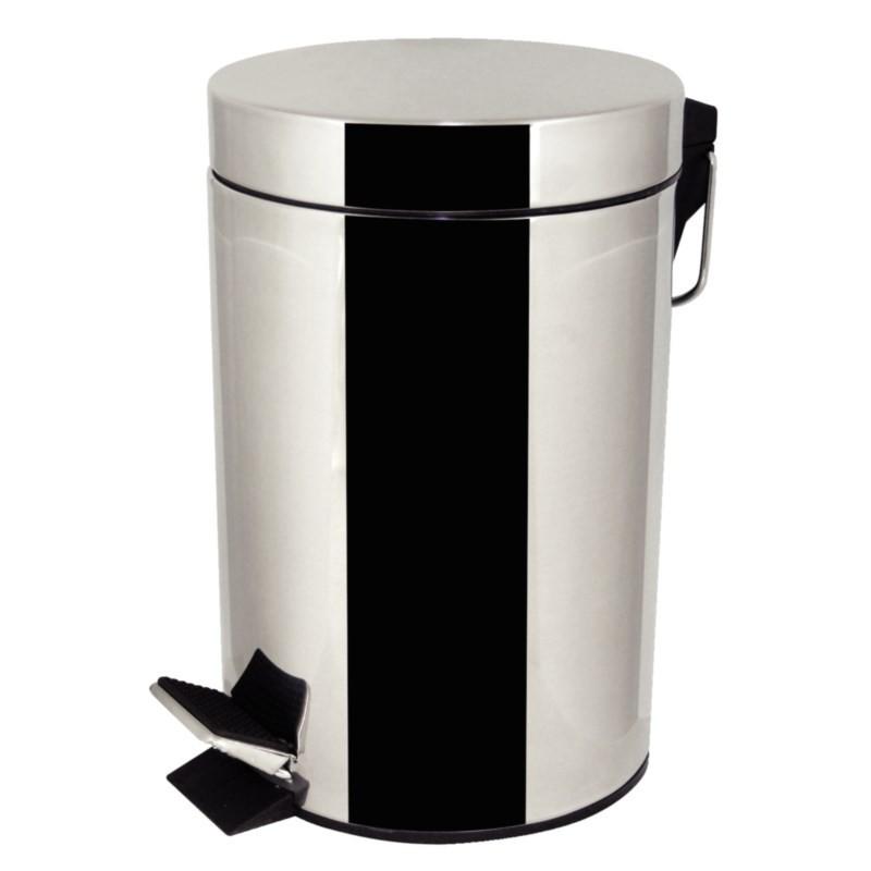 poubelle p dale en acier inoxydable 3l. Black Bedroom Furniture Sets. Home Design Ideas