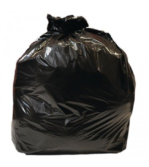 Sacs poubelle noirs utilisation courante Jantex - 10kg (rouleau de 10)