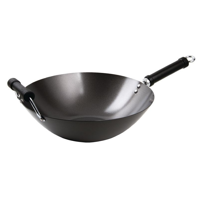 Wok Anti-Adhésif Base Plate 35 cm - Kitchen Craft - K250