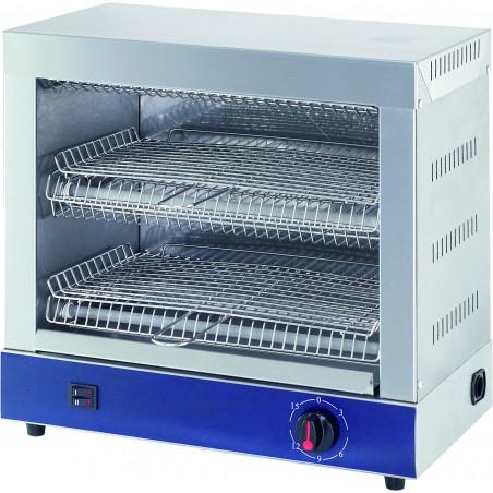 Toaster Professionnel en Inox 2 Niveaux 3 Kw - Stalgast - 779161