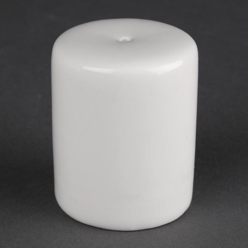 Salières en porcelaine blanche Athena - Lot de 12 -