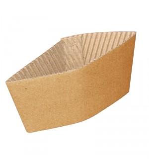 Enveloppes ondulées pour gobelets