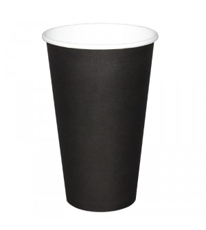Gobelets boissons chaudes noirs Olympia 230ml x50