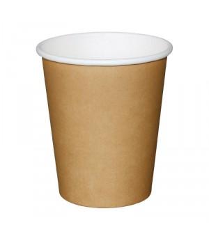 Gobelets boissons chaudes marron Olympia
