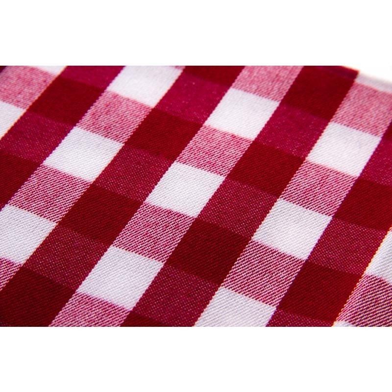 Serviettes de table carreaux en polyester tiss - Serviette de table carreaux ...