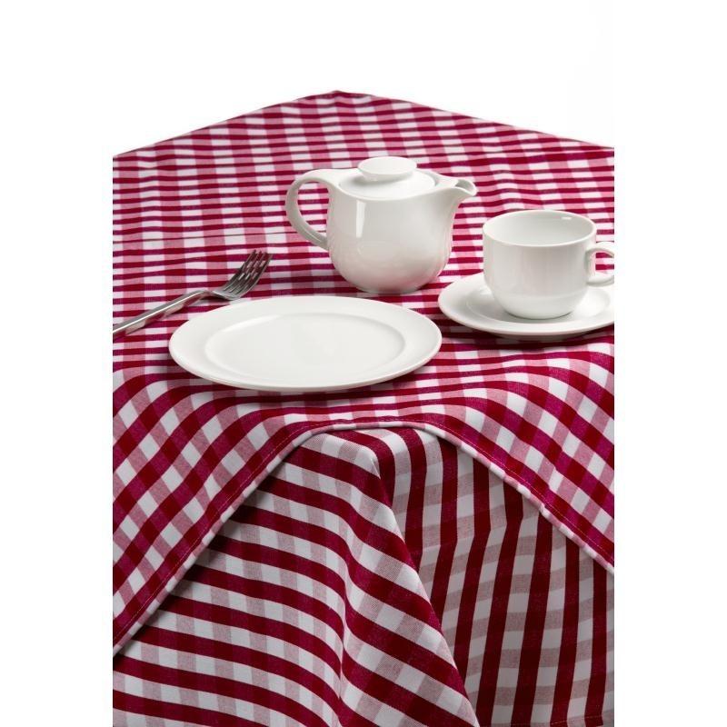 Nappe carreaux rouges et blancs palmar for Nappe de table carre