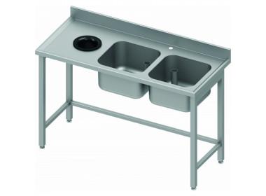 Table Inox Pour Professionnel Et Restaurant Table Inox Pas